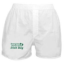 Everyone loves an Irish Boy Boxer Shorts