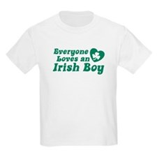 Everyone loves an Irish Boy Kids T-Shirt