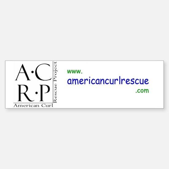 ACRP Bumper Bumper Bumper Sticker