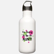 Going To Be Aunt! Water Bottle