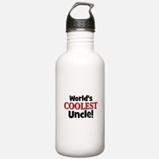 World's Coolest Uncle! Water Bottle