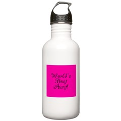 World's Best Aunt! Water Bottle