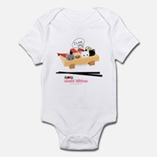 sushi kitten Infant Bodysuit