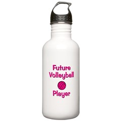 Future Volleyball Player Water Bottle