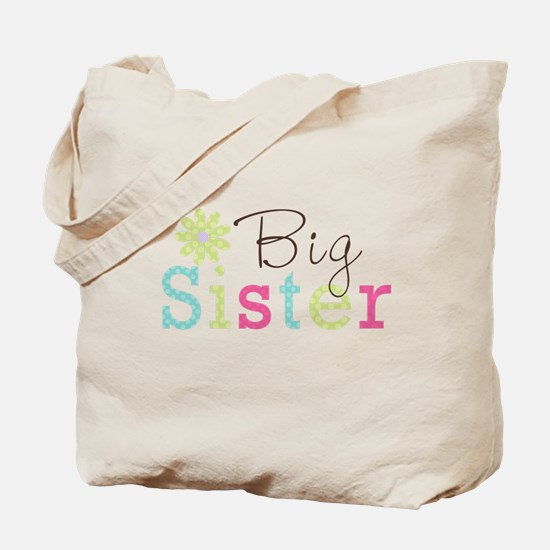 Big Sister Flower Tote Bag