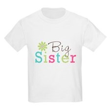 Big Sister Flower T-Shirt