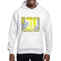 Sarcoma RideWalkRun Hoodie