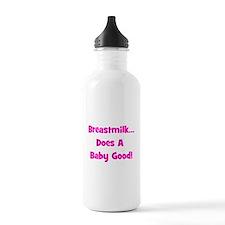Breastmilk Does A Baby Good! Water Bottle