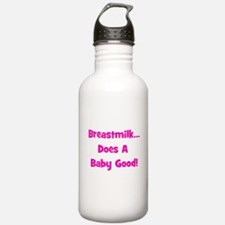 Breastmilk Does A Baby Good! Water Bottle