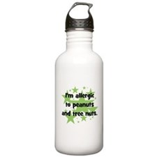 I am allergic to Peanuts & Tr Sports Water Bottle