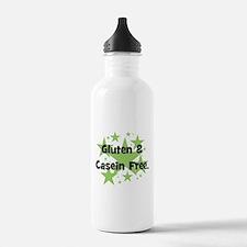 Gluten & Casein Free - stars Water Bottle