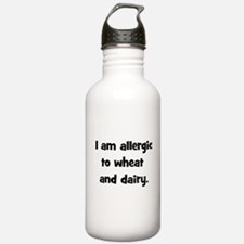 Allergic to Wheat & Dairy - B Sports Water Bottle