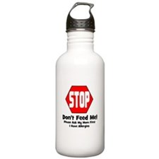 Don't Feed Me - Allergies Water Bottle