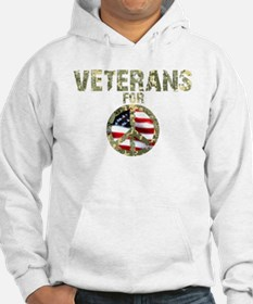 Veterans For Peace Sign Hoodie