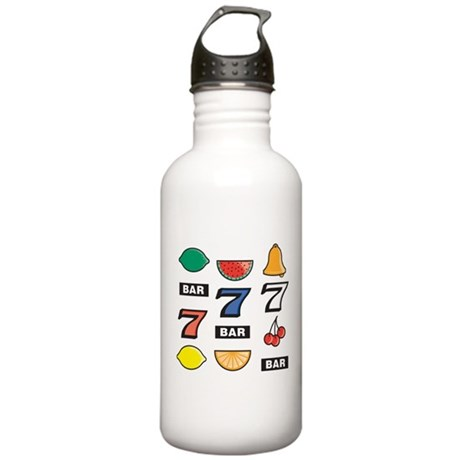Slot Machine Stainless Water Bottle 1.0L