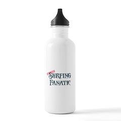 Surfing Fanatic Water Bottle