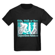 Ovarian Cancer RideWalkRun T