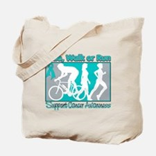 Ovarian Cancer RideWalkRun Tote Bag