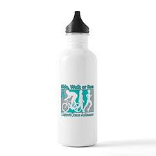 Ovarian Cancer RideWalkRun Water Bottle