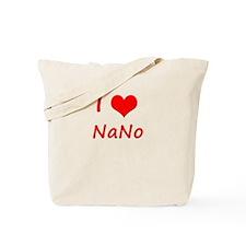 I Heart NaNo Tote Bag