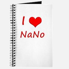I Heart NaNo Journal