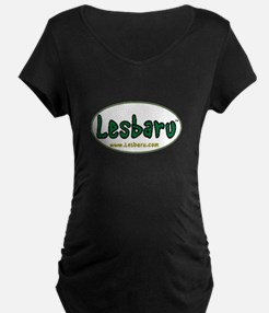 Lesbaru Logo Sticker Larger T-Shirt
