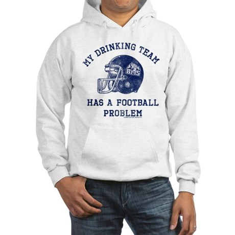 Blue Mountain State Drinking Team Hooded Sweatshir