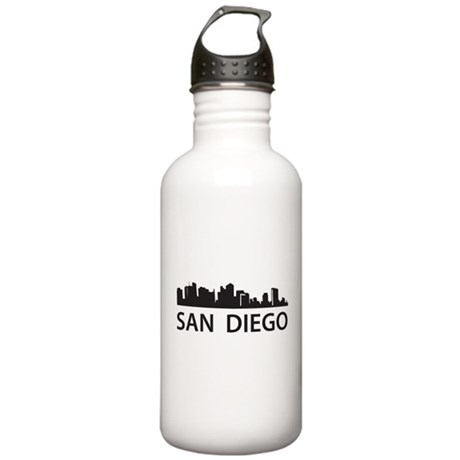 San Diego Skyline Stainless Water Bottle 1.0L
