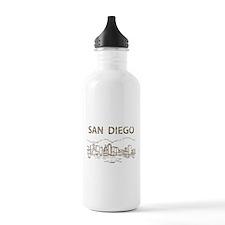 Vintage San Diego Water Bottle