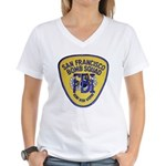 FBI EOD San Francisco Women's V-Neck T-Shirt