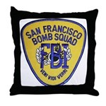 FBI EOD San Francisco Throw Pillow