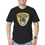 FBI EOD San Francisco Men's Fitted T-Shirt (dark)