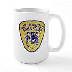 FBI EOD San Francisco Large Mug