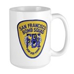 FBI EOD San Francisco Large Mug