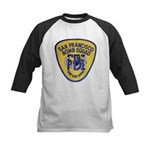 FBI EOD San Francisco Kids Baseball Jersey