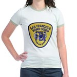 FBI EOD San Francisco Jr. Ringer T-Shirt