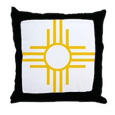 Cute New mexico flag Throw Pillow