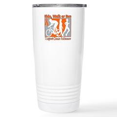 Kidney Cancer RideWalkRun Travel Mug
