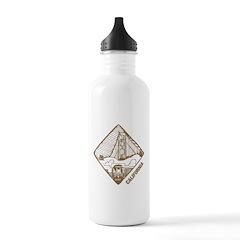 Vintage California Water Bottle