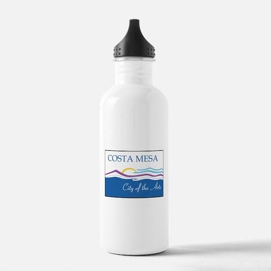 Costa Mesa Flag Water Bottle