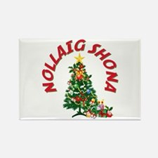 Irish Christmas Rectangle Magnet