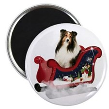 Magic Sleigh Sheltie Magnet