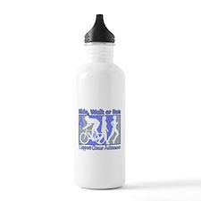 Esophageal Cancer RideWalkRun Water Bottle