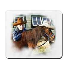 4-H Cowboy (fuzzy edged) Mousepad