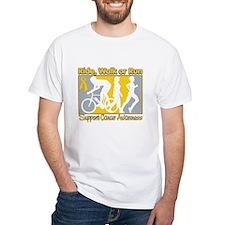 Childhood Cancer RideWalkRun Shirt