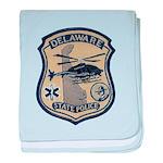 Delaware State Police Aviatio baby blanket