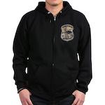 Delaware State Police Aviatio Zip Hoodie (dark)