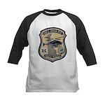 Delaware State Police Aviatio Kids Baseball Jersey