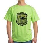 Delaware State Police Aviatio Green T-Shirt