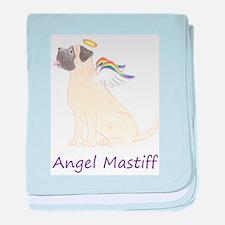 Angel Mastiff baby blanket